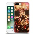 OFFICIAL ROCK DEMARCO PAINTED ART Rock Skull Hard Back Case for Apple iPhone 7 Plus