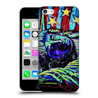 OFFICIAL ROCK DEMARCO LIBERTY Touched Neon Hard Back Case for Apple iPhone 5c