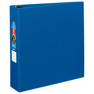 Avery EZD Heavy Duty 2 3-Ring Non-View Binder, Blue (79882)