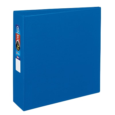 Avery Heavy Duty 3 3-Ring Non-View Binder, Blue (79883)