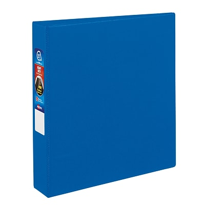 Avery Heavy-Duty 1.5 3-Ring Non-View Binder, Blue (79885)