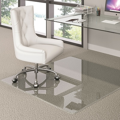 Deflecto Glass 40 x 60 Rectangle Recycled Chairmat (CMG70434060)