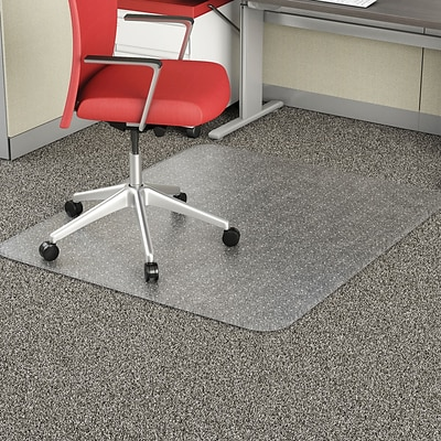 Deflecto Studded 46x 60 Rectangle Rollformed Cartoned Chairmat (CM11443FPB)