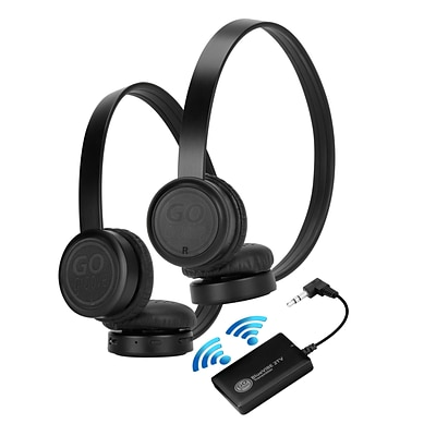 GOgroove TV Bluetooth Wireless Headphones Connection Kit (4748055)