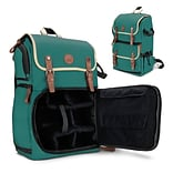 GOgroove Full-size DSLR Camera Backpack Case (Green) (4784183)