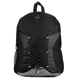 SumacLife Light Weight Back to School Canvas Athletic School Student Backpack