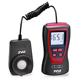 Pyle Handheld Lux Light Meter Photometer, Red (PLMT12)