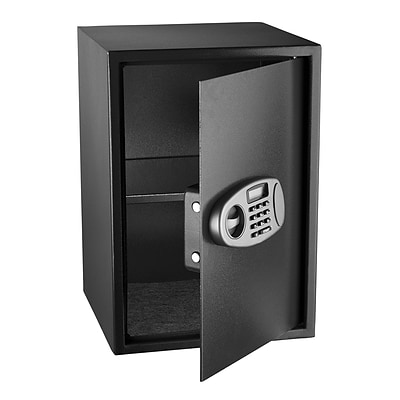 Adir Steel Security Safe with Digital Lock 14L x 14W x 20.5H