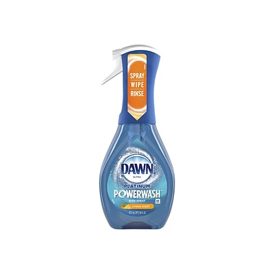 Dawn Ultra Platinum Powerwash Dish Soap Spray, Citrus Scent (40657)