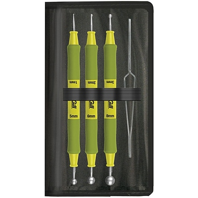 Advantus 65800 Paper Blossom Tool Kit 4/Pkg-Ball Tools