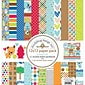 "Doodlebug PL5293 Doodlebug Double-Sided Paper Pack 12""X12"" 11/Pkg-Puppy Love"