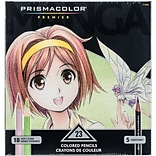 Sanford 1774800 Prismacolor Premier Manga Colored Pencil Set 23/Pkg