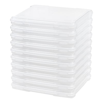 IRIS Portable Project Case, Clear, 10 Pack (586390)