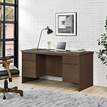 Ameriwood Home Tiverton 59 Executive Desk, Resort Cherry (9111096COM)