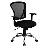 Flash Furniture Mesh Task Chair, Gray and Black (H-8369F-BLK-GG)