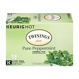 Twinings Herbal Tea, Keurig® K-Cup® Pods, 24/Box, 4/Box (08760)