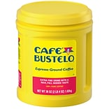 Cafe Bustelo Espresso Ground Coffee, 36 oz., Dark Roast (00055)