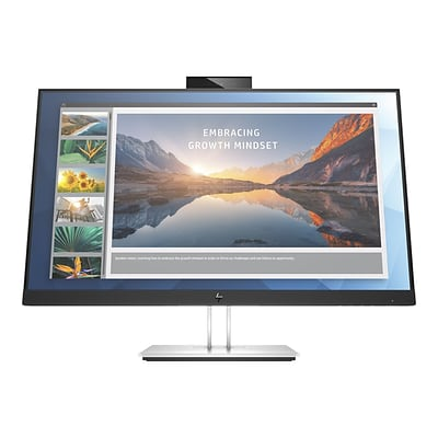 HP E24d G4 Advanced Docking 24 LED Monitor, Black