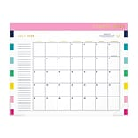 2020 AT-A-GLANCE 17 x 21.75 Desk Pad Calendar, Emily Ley Simplified, Happy Stripe (EL400-704A-21)