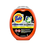 Tide POWER PODS Heavy Duty 10X Laundry Detergent Pods, 81 Oz., 48/Pack (59080)