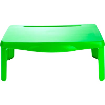 Mind Reader 17.5 x 12 Plastic Lap Desk, Green (LAPSTOR-GRN)
