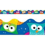 TREND Enterprises Owl Stars Terrific Trimmers 39 x 2.25 Borders, 12/Pack (T-92359)
