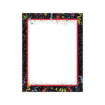 Great Papers! Birthday Letterhead, Party Down, 80/Pack (2020018)