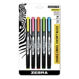 Zebrite Highlighter Assorted 5pk