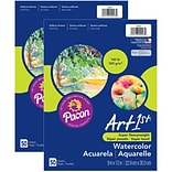 Art1st Super Heavyweight Watercolor Paper, 9 x 12, 100 Sheets (PAC4943-2)