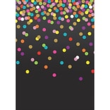 Teacher Created Resources Better Than Paper Bulletin Board Paper Roll, Colorful Confetti on Black, 4
