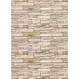 Teacher Created Resources Better Than Paper Bulletin Board Paper Roll, Stacked Stone, 4-Pack (TCR323