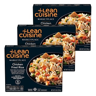 Lean Cuisine Marketplace Chicken Fried Rice, 3/Pack (552402)