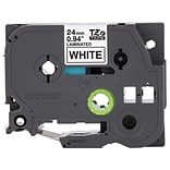 Brother Genuine P-touch TZe-251 Label Maker Tape, 0.94W, Black On White