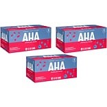 AHA Blueberry + Pomegranate Sparkling Water, 12 Fl. Oz., 24/Pack (157375)