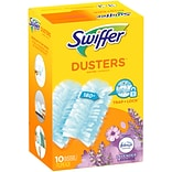 Swiffer Dusters Multi-Surface Synthetic Fiber Refills, Febreze Lavender Scent, Blue, 10/Pack (16697)