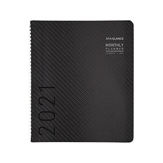 2021 AT-A-GLANCE 9 x 11 Planner, Charcoal (70-260X-45-21)