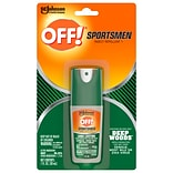 OFF! Deep Woods Sportsmen I Spray for Mosquitos, Odorless, 1 oz. (317188)