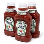 Heinz Tomato Ketchup Squeeze Bottle, 44 oz., 3/Pack (220-00499)