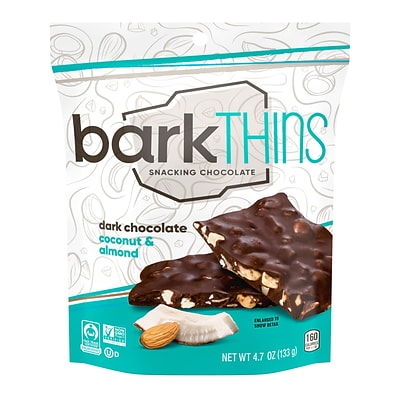 barkTHINS Dark Chocolate Coconut with Almonds, 2 oz., 6 Count (00475)