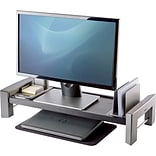 Fellowes Professional Monitor Stand, Black/Silver (8037401)