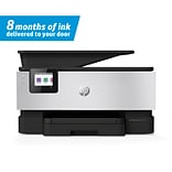 HP OfficeJet Pro 9016 All-in-One Wireless Color Inkjet Printer w/ 8 Months of Ink Delivered to Your