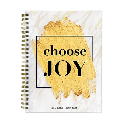2020-2021 TF Publishing 6.5 x 8 Planner, Classic Series Choose Joy, Multicolor (21-9215A)