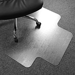 Floortex® Advantagemat® 36 x 48 Rectangular with Lip Chair Mat for Carpets up to 1/4, Vinyl (1192