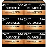Duracell Coppertop AAA Alkaline Batteries, 144/Carton (MN2400BKD)