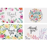 Better Office Thank You Cards with Envelopes, 4 x 6, Assorted Colors, 100/Pack (64521)