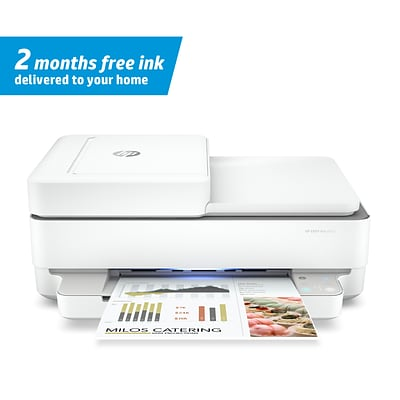 HP ENVY Pro 6455 Wireless Inkjet All-in-One Printer, Instant Ink Ready (5SE45A)