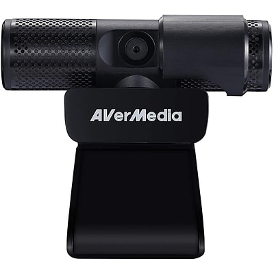 AVerMedia Live Streamer CAM 2MP Webcam, Full Color, 1080p, Black (PW313)
