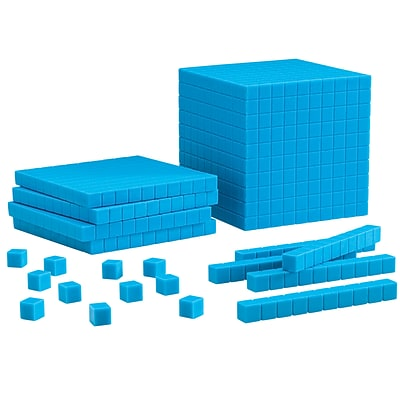 Learning Resources Blue Plastic Base Ten Starter Set (LER0930)