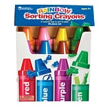 Learning Resources Rainbow Sorting Crayons, 56 Pieces (LER3070)