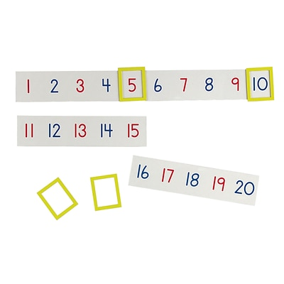 Learning Resources Magnetic Number Line (LER5194)